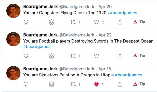 Twitter bot example