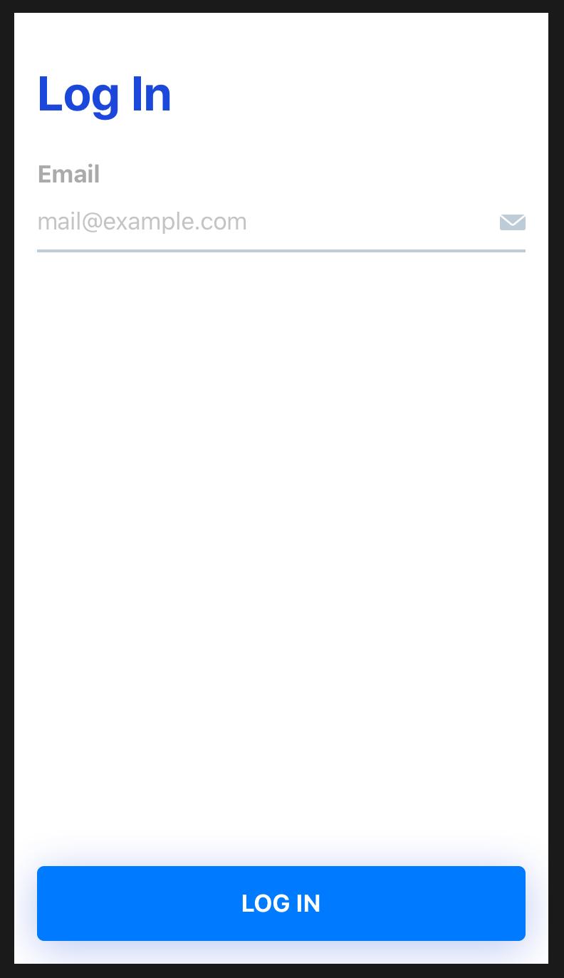 Creating a login screen in SwiftUI