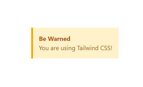 tailwind example