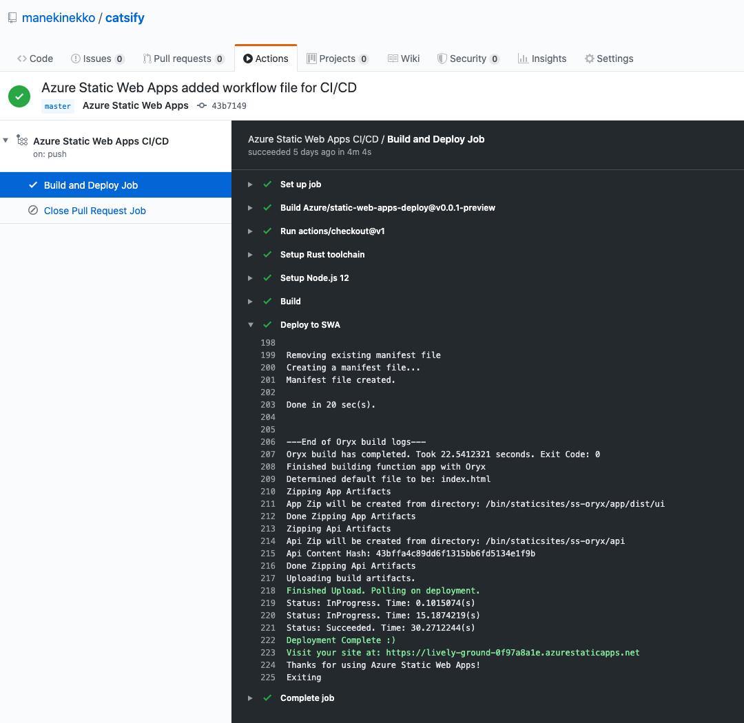 GitHub deployment