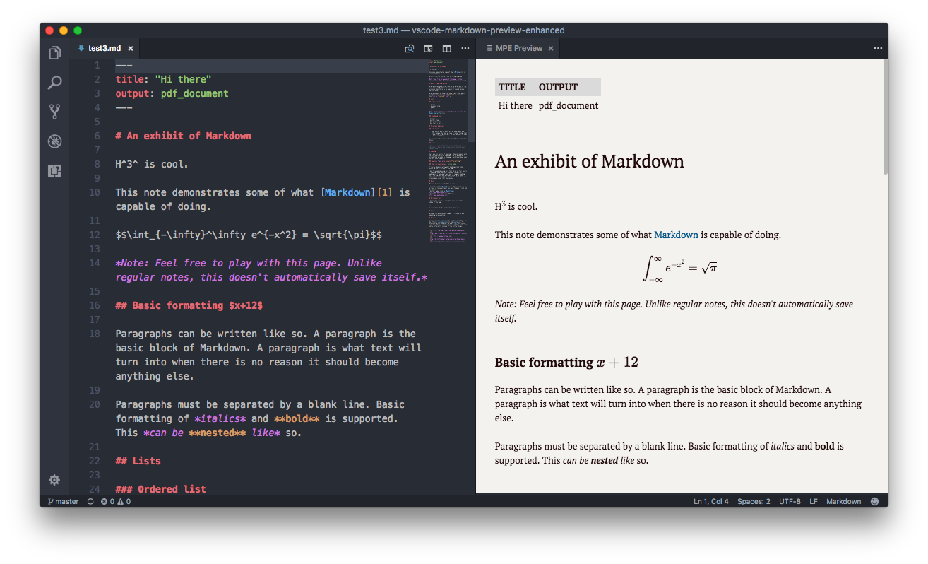 Markdown Preview Enhanced Demo