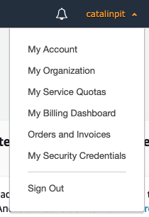 AWS Account List