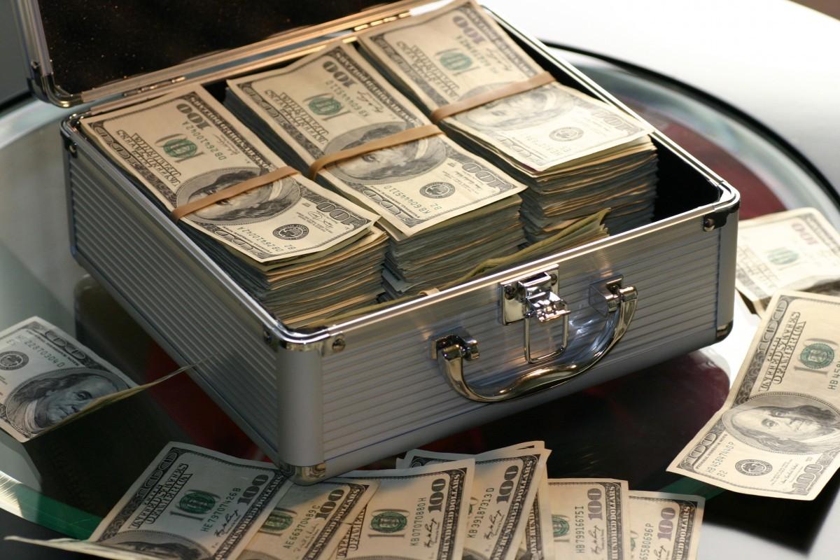 Trabalhando com dinheiro!