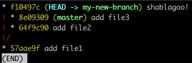 Screenshot of log after changes