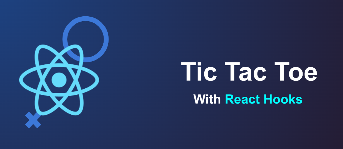 Tic-tac-toe with React hooks slide