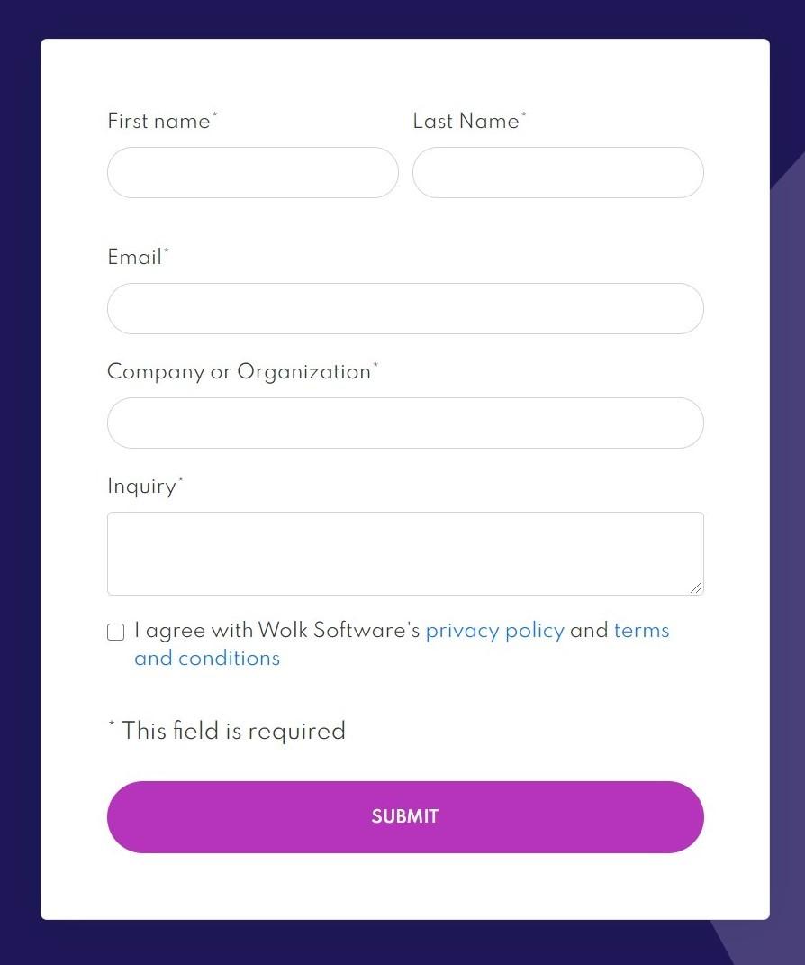 React web form