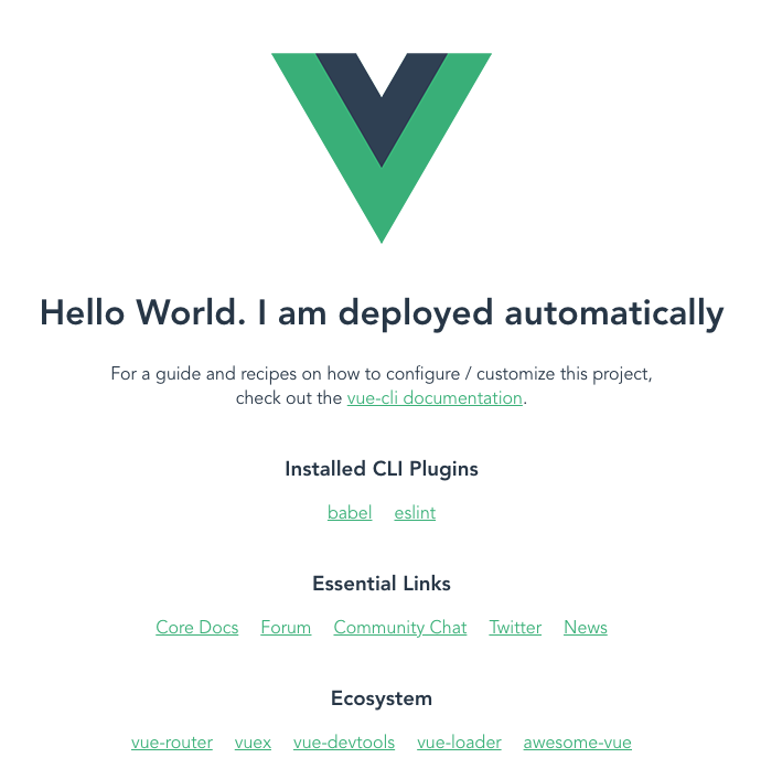 Local integration between Vue and Spring success