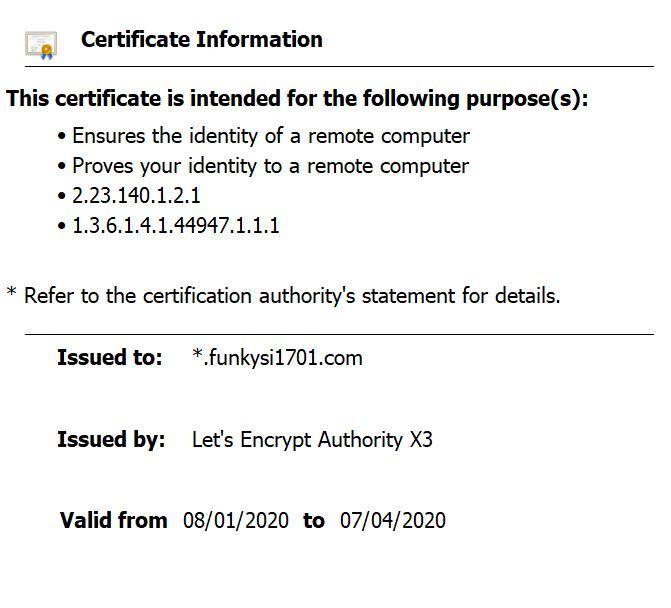 Testing For Expiring SSL Certificates
