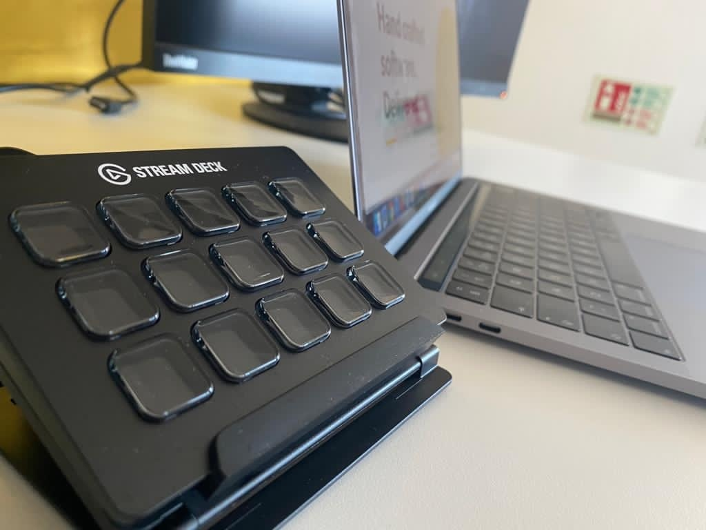 Photo of our Stream Deck
