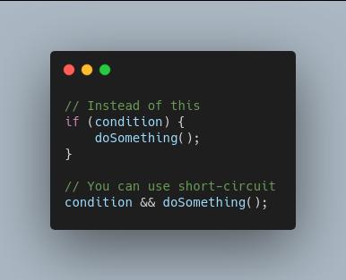 Short circuit conditionals