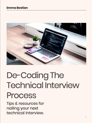 Decoding the Technical Interview Process book cover