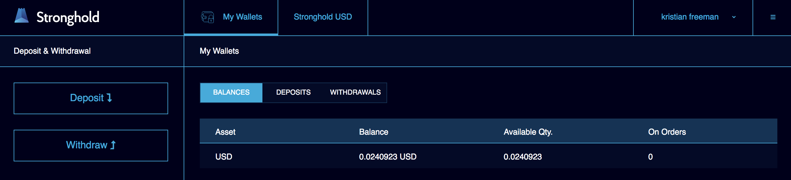 My first Web Monetization deposit