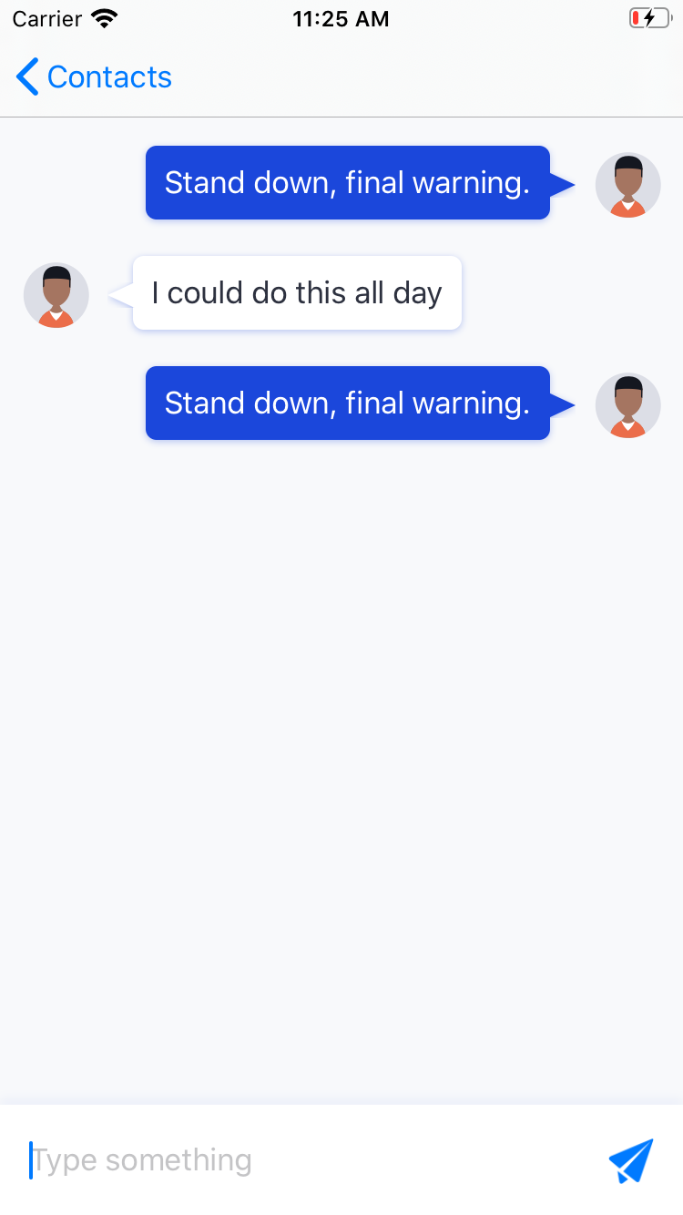 Loading previous messages in the SwiftUI chat app