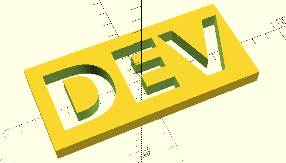 Inverted text