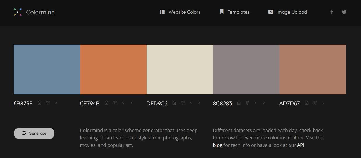 Shoppery color palette