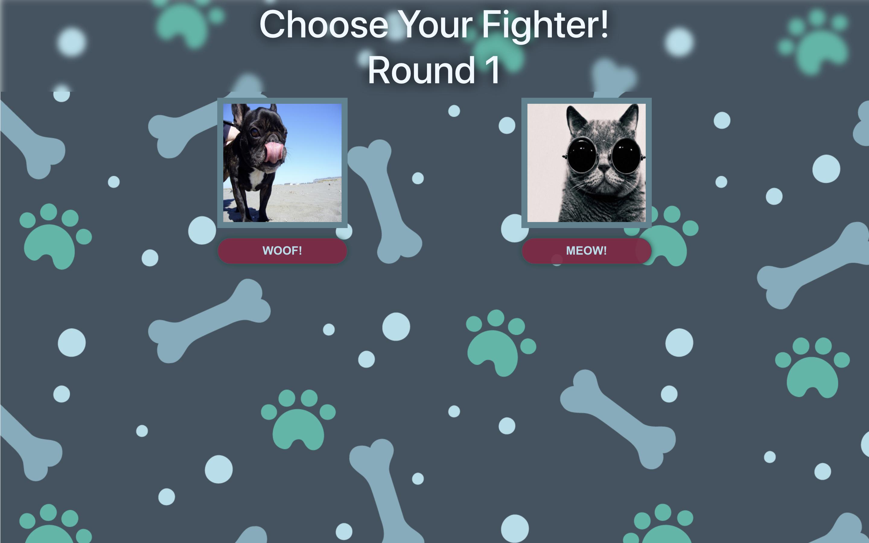 woof vs meow