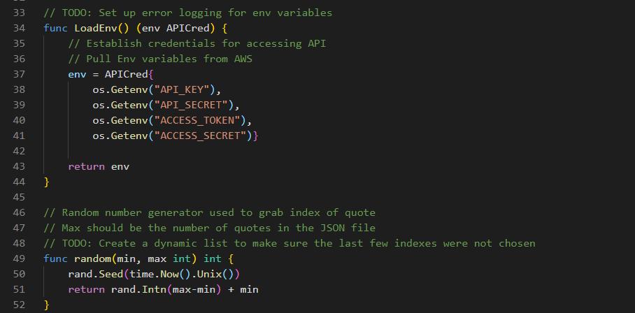 Load Env and Math