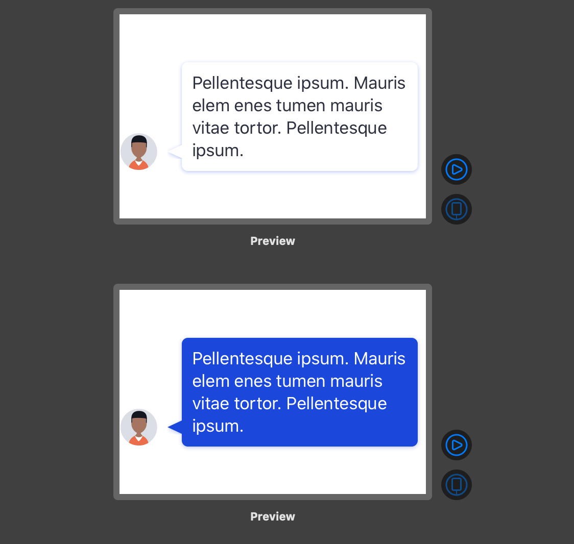 Making a chat bubble in SwiftUI