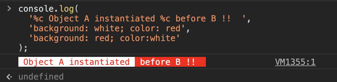 console color