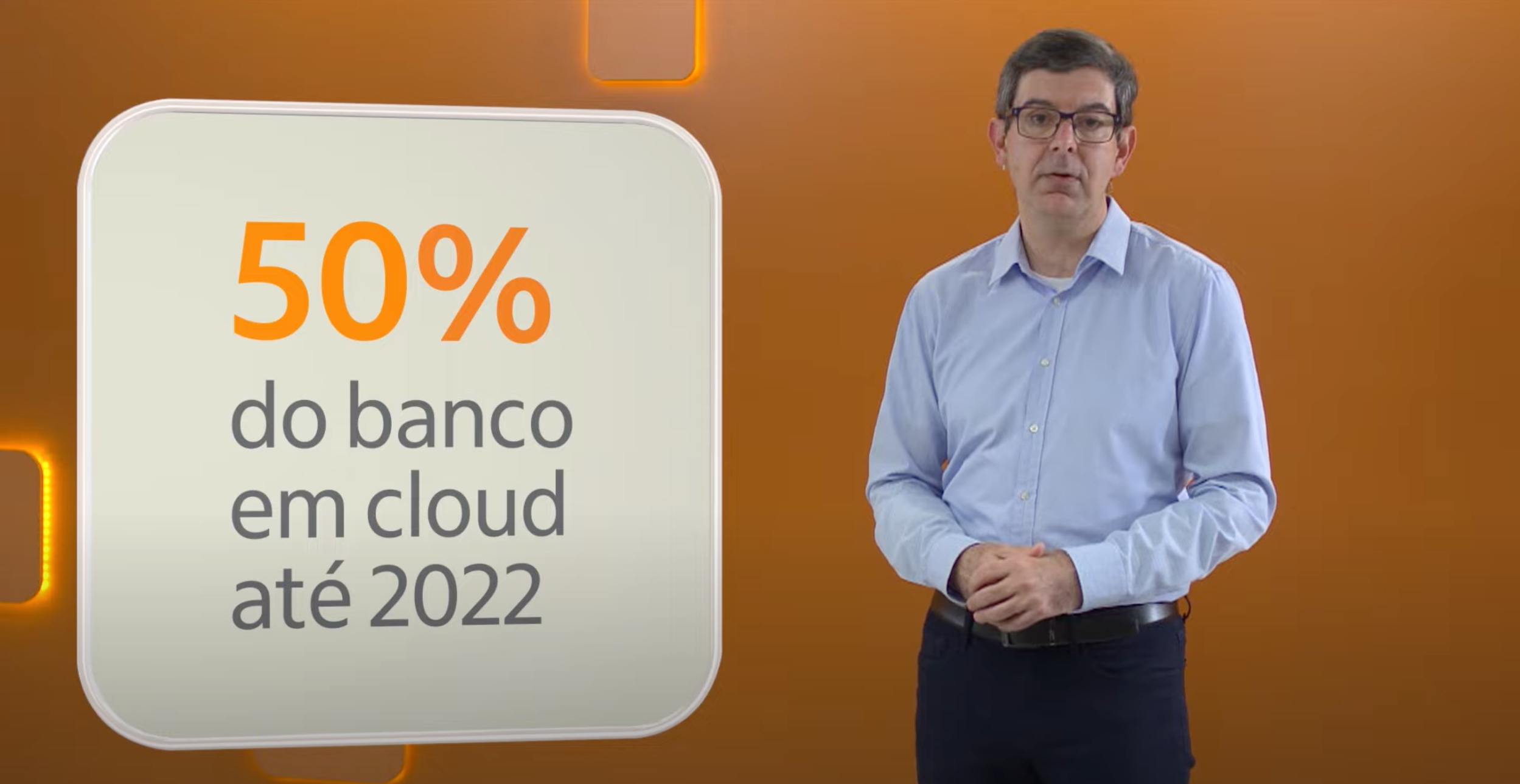 50% of the bank in the Cloud