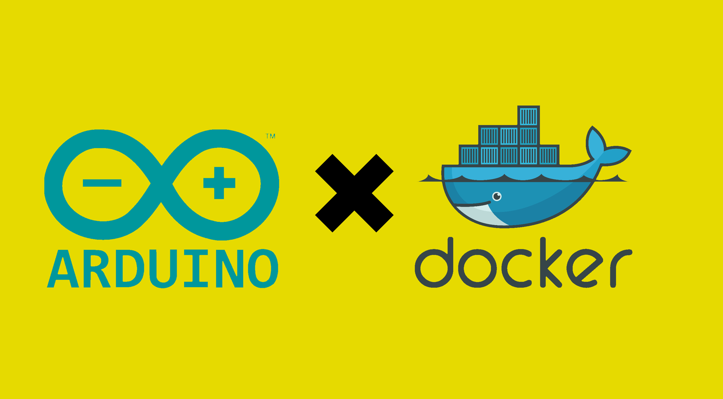 """How to Communicate with an Arduino from Docker"" Header Image"