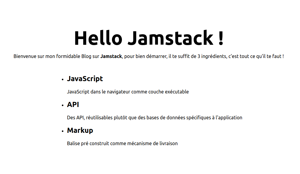 Hello Jamstack