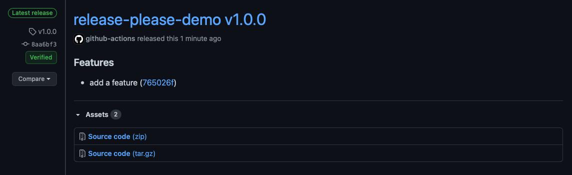 New GitHub Release
