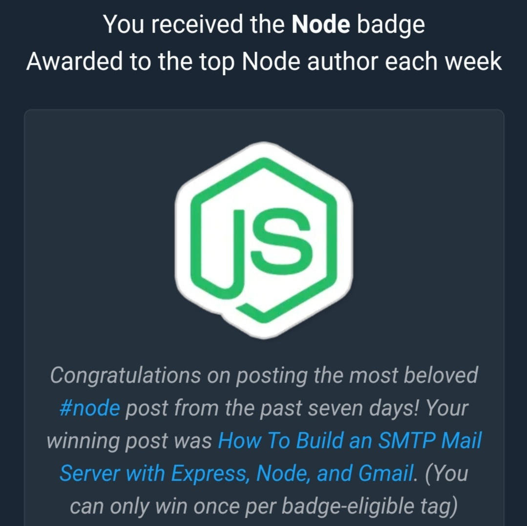 Node Badge
