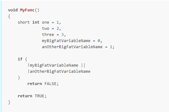 Tabs with 4 width