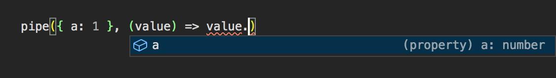 Screenshot showing an IntelliSense tooltip