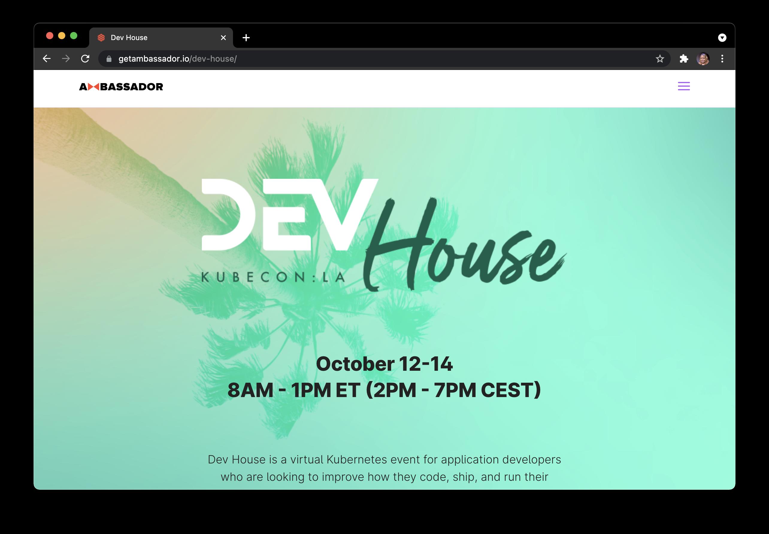 Dev House