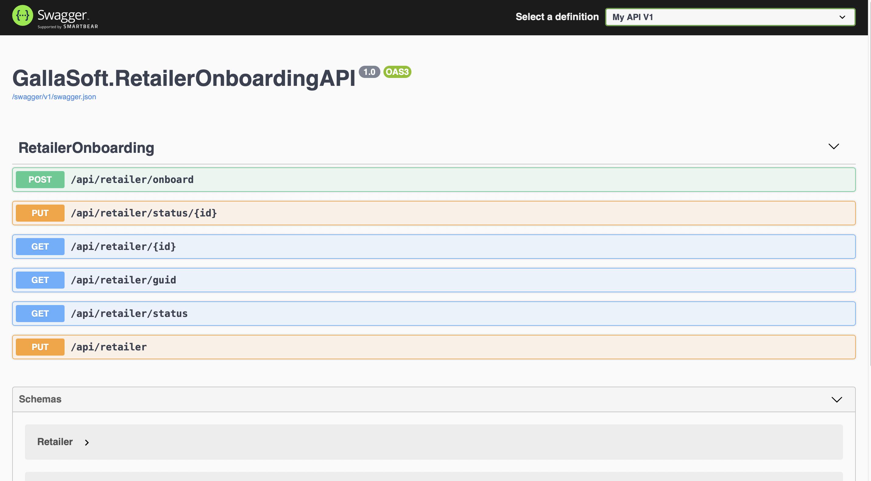 Docker Asp.Net Core Running Api