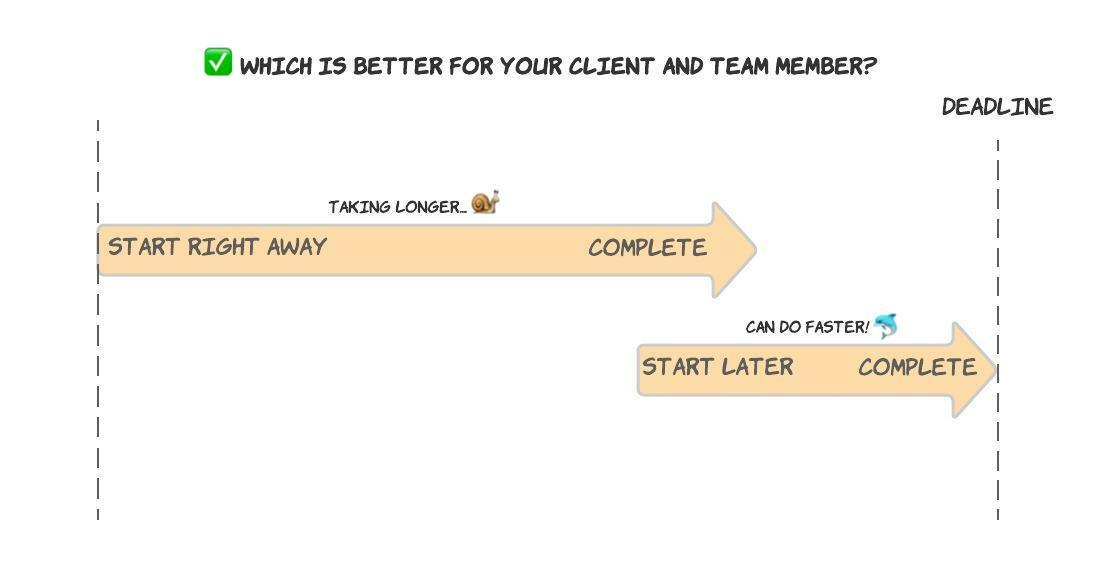Which is better for your client and team member?